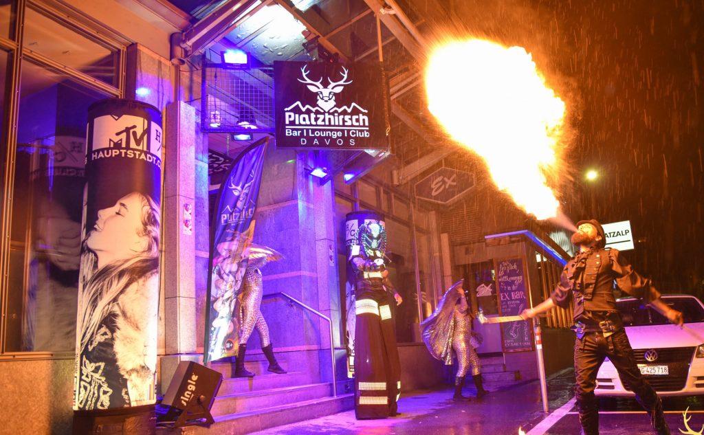 Feuerspeier MTV Davos 2020