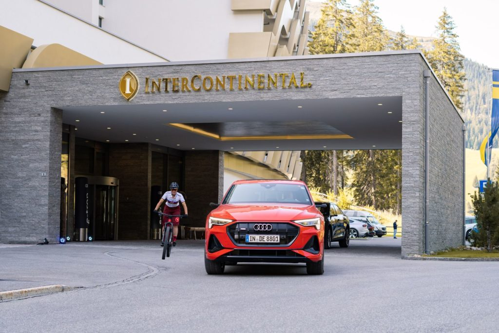 Audi Promotion Davos und Verbier k3p kreis3production GmbH Hostessen