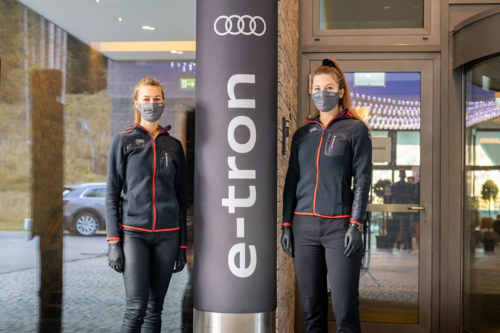 Audi Promotion Davos und Verbier k3p kreis3production GmbH Hostessen